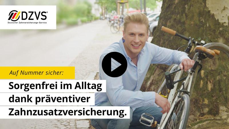 Video Sorgenfrei im Alltag Deutscher Zahnversicherungs-Service